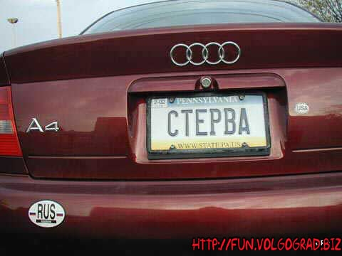 Прикольные надписи на авто и веселые номера