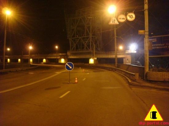 ДТП на плотине ДнепроГЭС в Запорожье