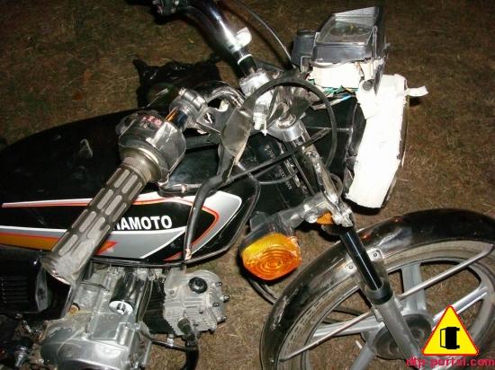 Мотоциклист врезался сзади в фуру, от чего и погиб