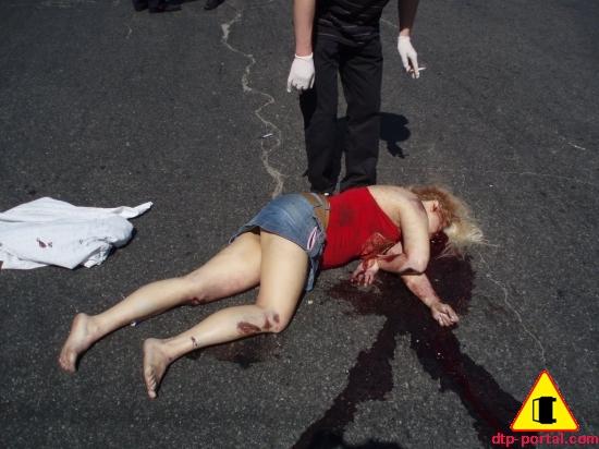 фото девушки труп