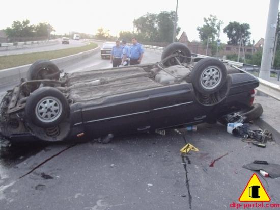 Девушка-пассажир погибла в ДТП