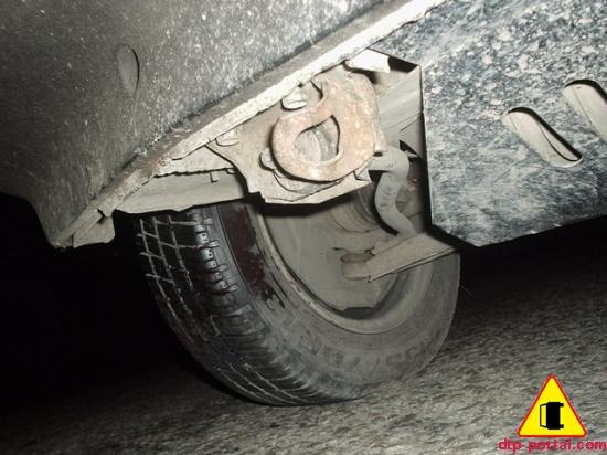 Фото колеса из-под машины