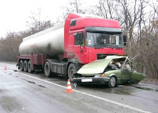Пятеро погибших в ДТП в Луганской области