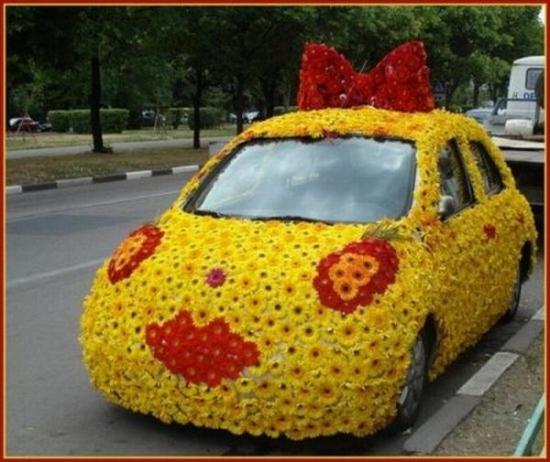 Веселый тюнинг автомобилей