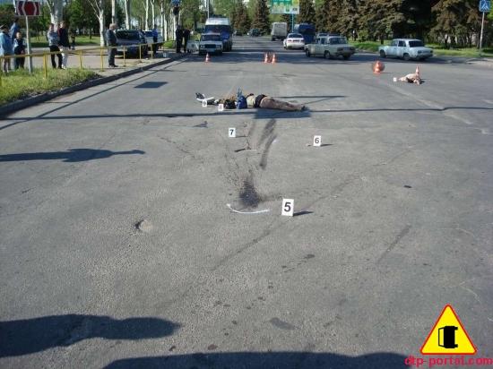 Две женщины погибли на пешеходном переходе