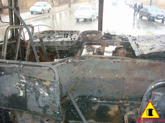 фото приборной панели после пожара