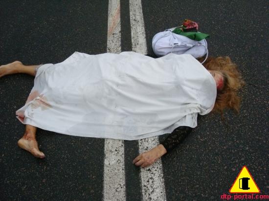 Ланос сбил насмерть женщину и скрылся