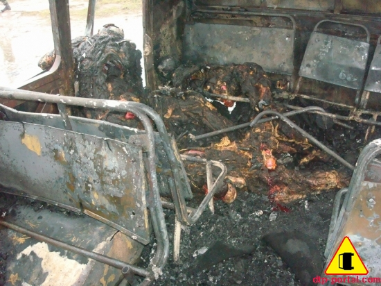 сгоревшие трупы после дтп