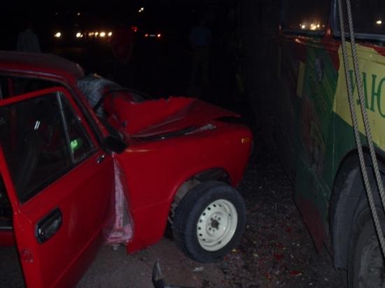 ваз-2102 авария погиб водитель